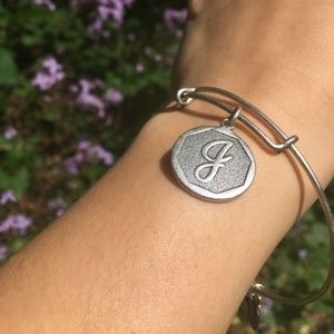"""J"" Alex and Ani Bracelet"